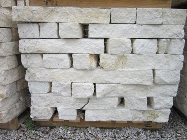 white dry stack