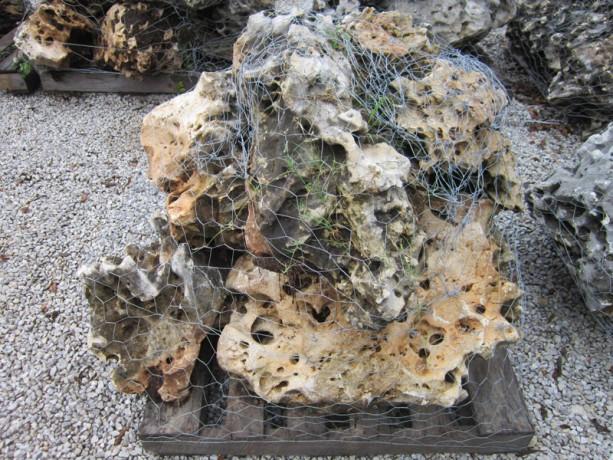 Honeycomb boulder