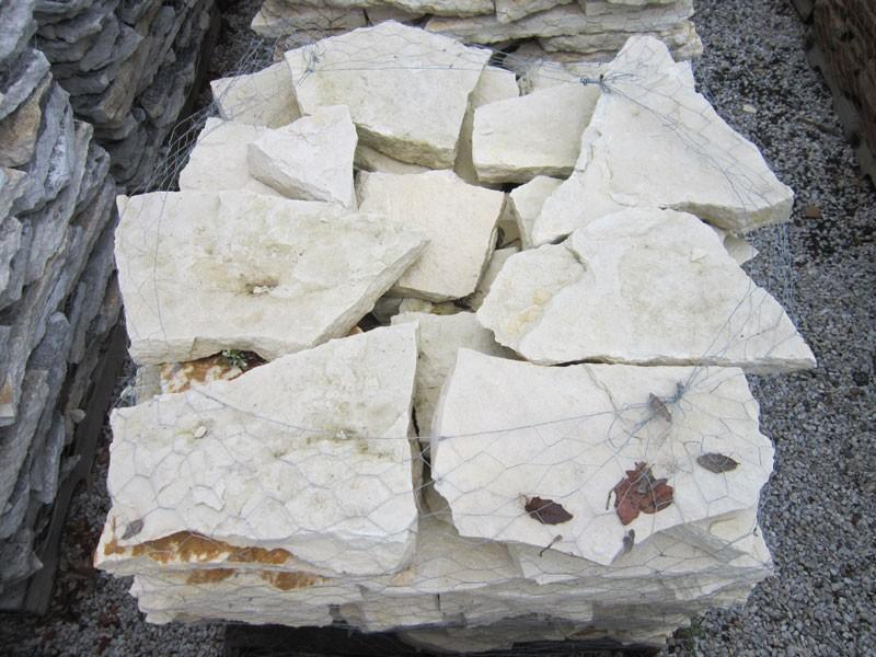Gentil Texas Stone   Split White Patio